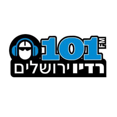 רדיו ירושלים 101fm לוגו